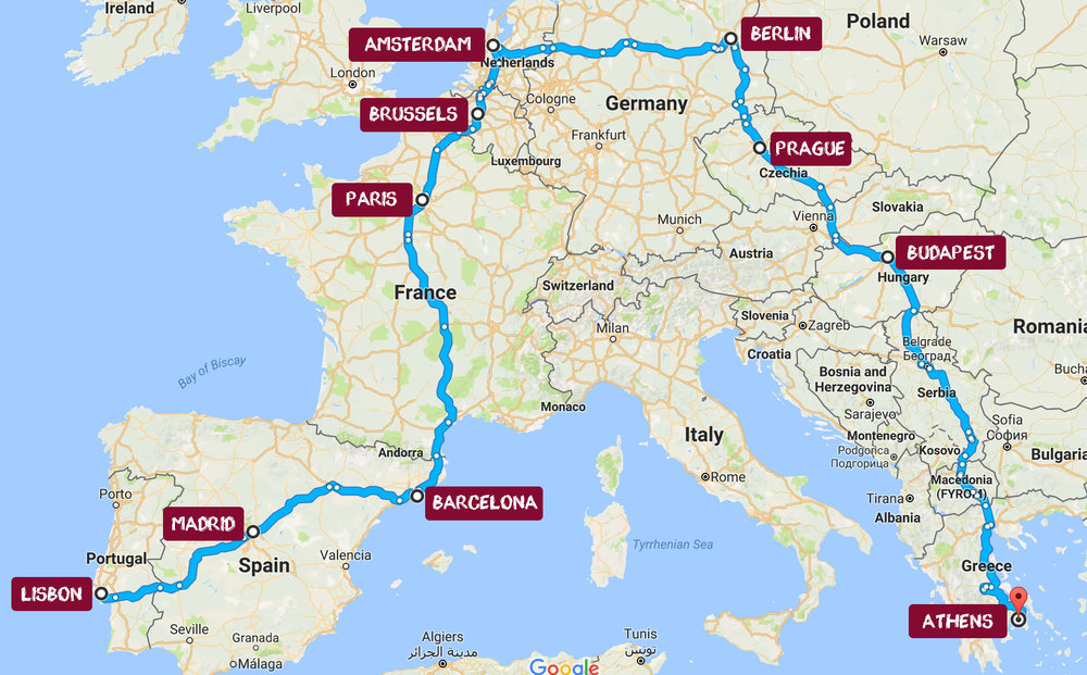 How To Plan The Perfect Interrail Trip The Blog Soph