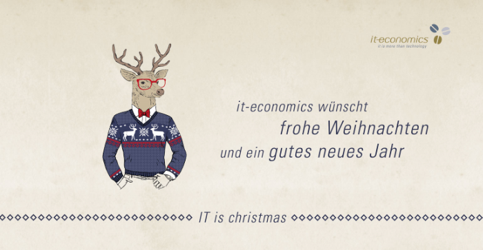 it-economics wünscht Frohe Weihnachten – it-economics
