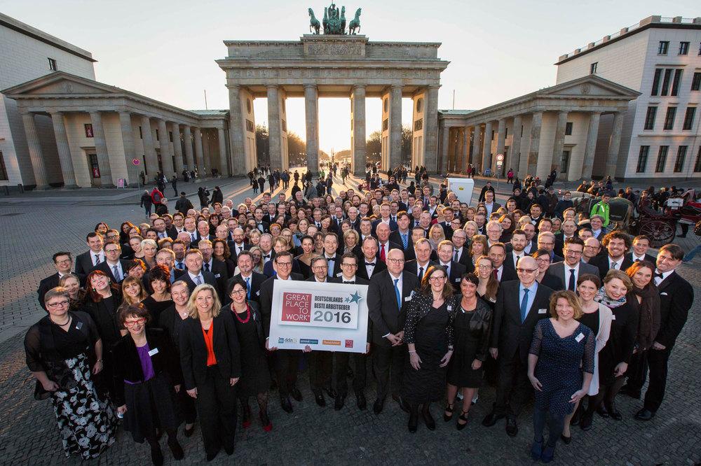 Beste Arbeitgeber Deutschlands - die Top 100