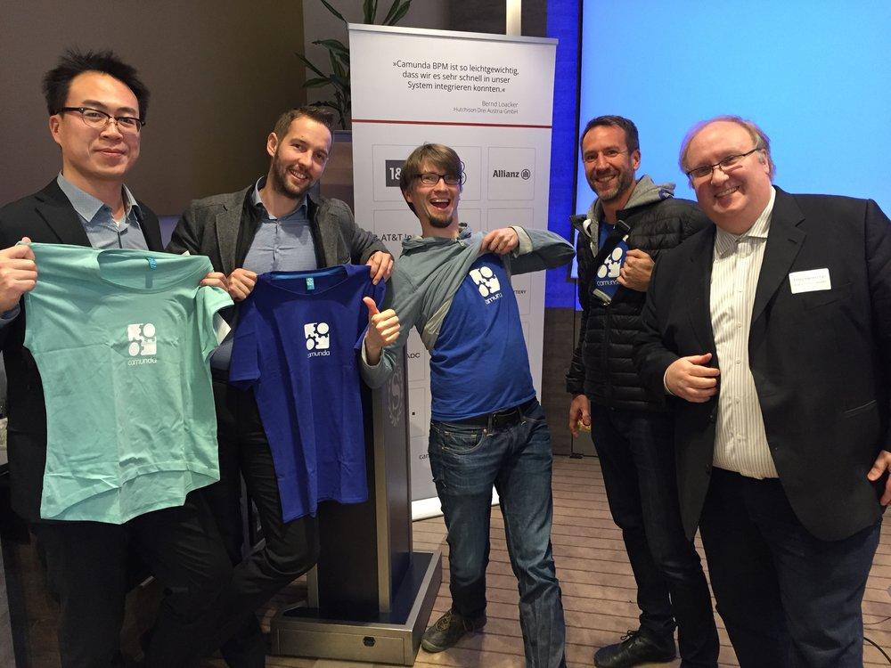 Das it-economics Team auf der Camunda BPM Release 7.6 Roadshow in München