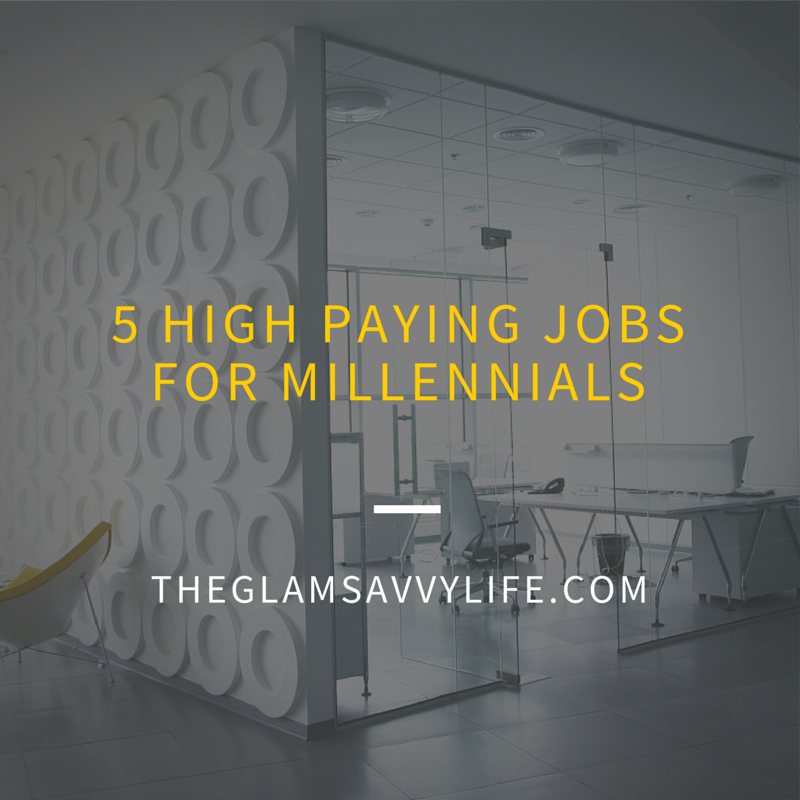 5 High Paying Jobs for Millennials