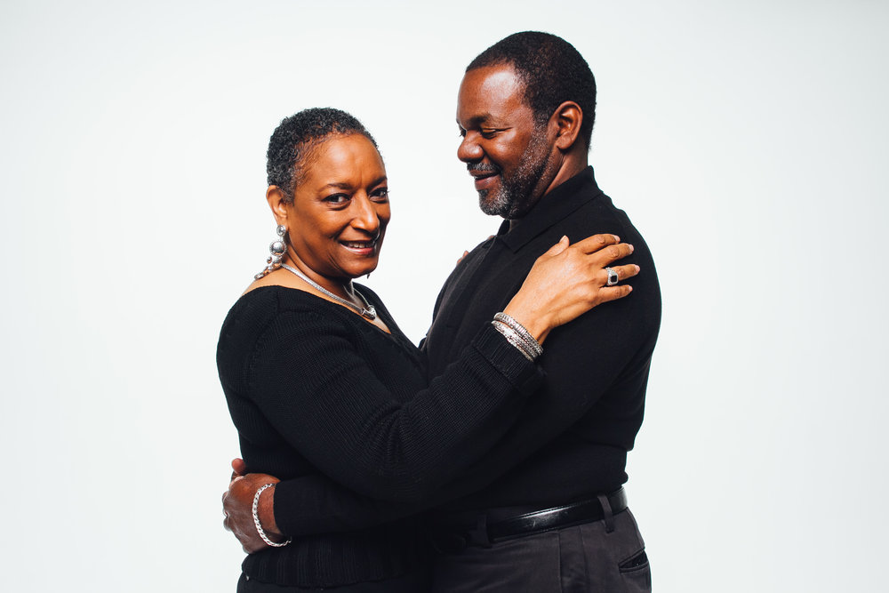 Lydia and Reginald, photographed for Love Me Well Photo by Jazzmin Awa-Williams