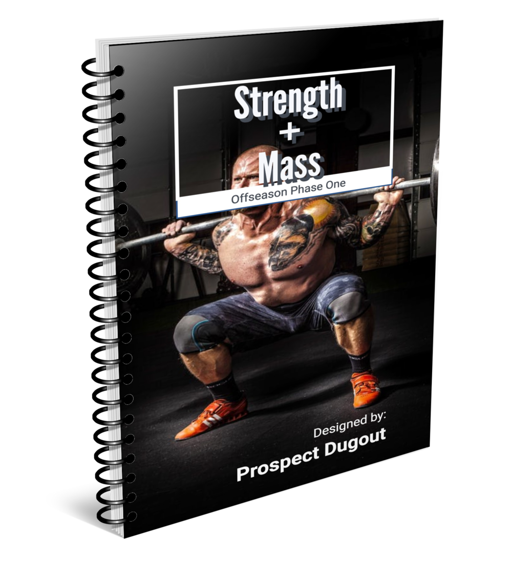 Off-Season Program Phase 1: Strength + Mass - Increase your size, strength, and power this off-season and improve your potential for success!