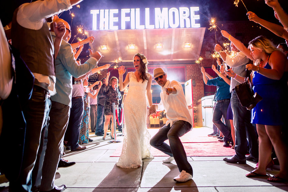 Wedding at the Fillmore | Weddings in Charlotte NC | Wedding Planner for the Southeast | Erica Stawick Events