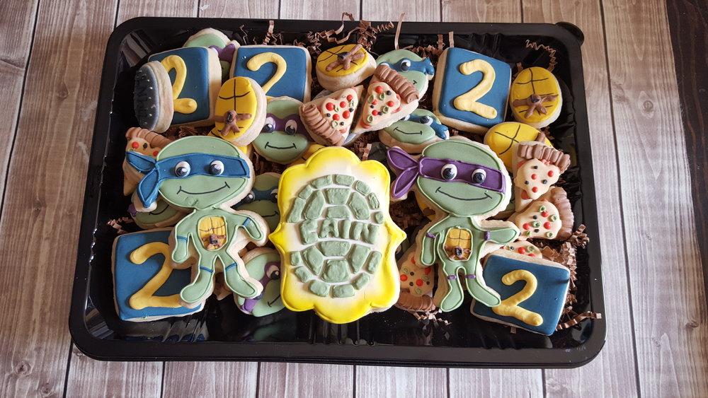 Birthday platter