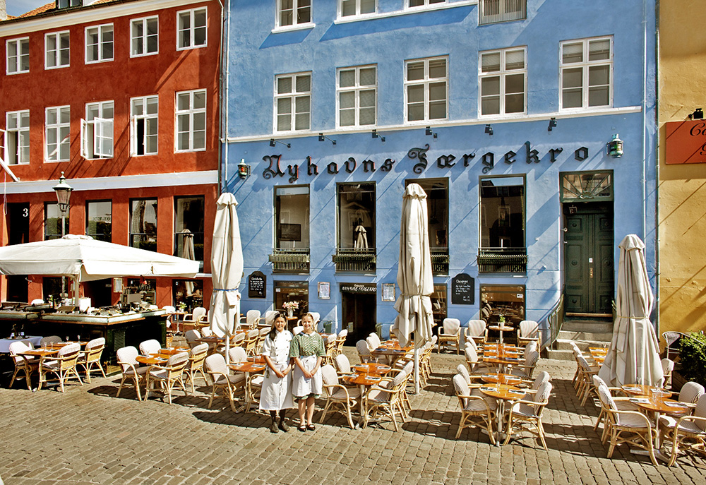 Best location in Nyhavn for celebrations, social gatherings, meetings and conferences - Nyhavns Færgekro.
