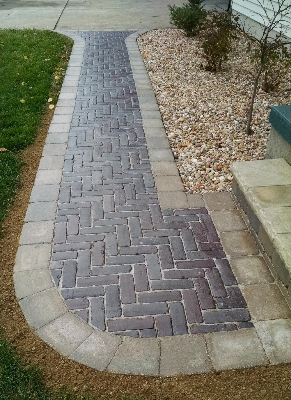 Sidewalk renovation