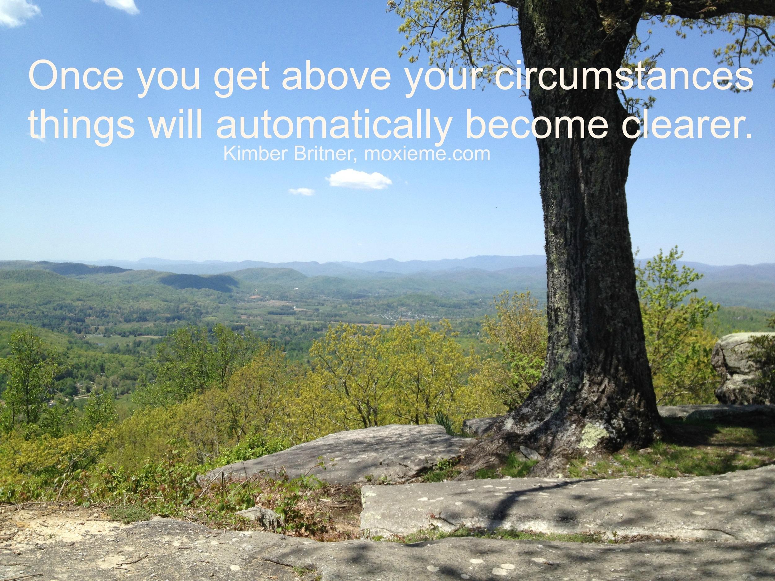 Above circumstances
