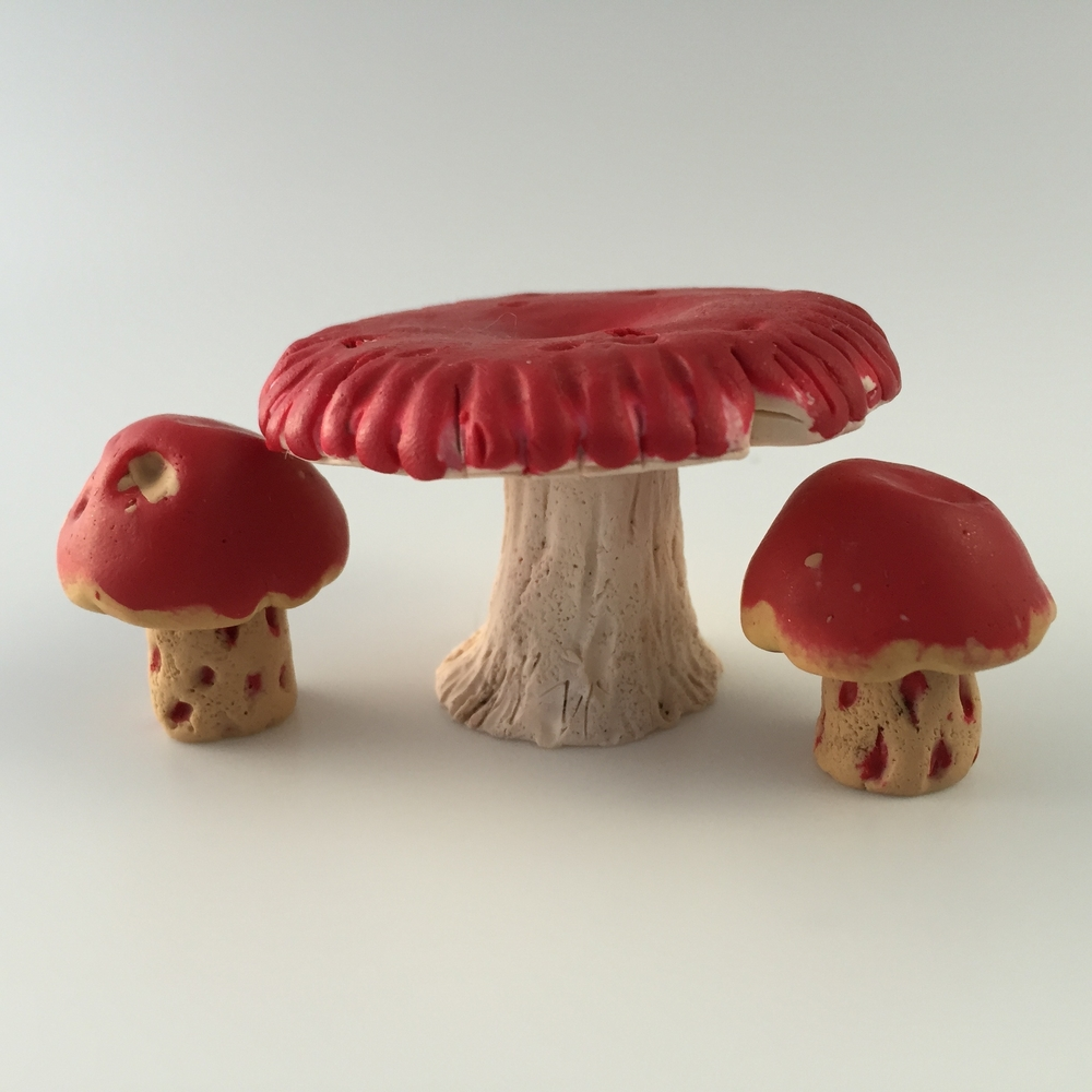 Mushroom Fairy Furniture