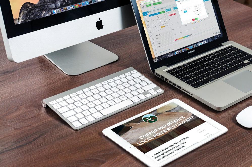 Squash Marketing Consulting, Website Design