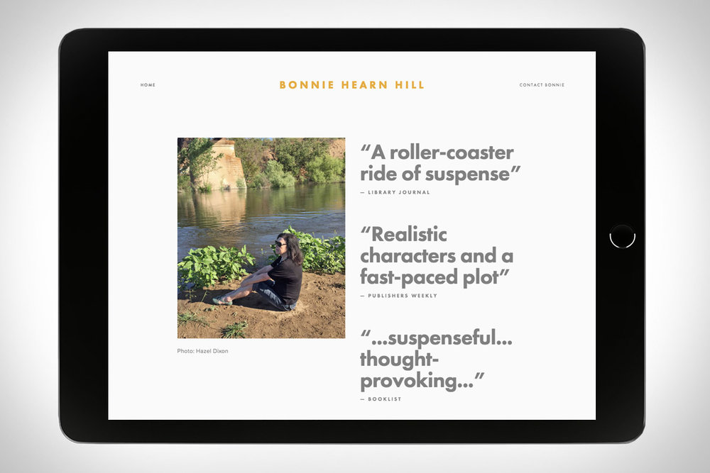 Bonnie Hearn Hill - author