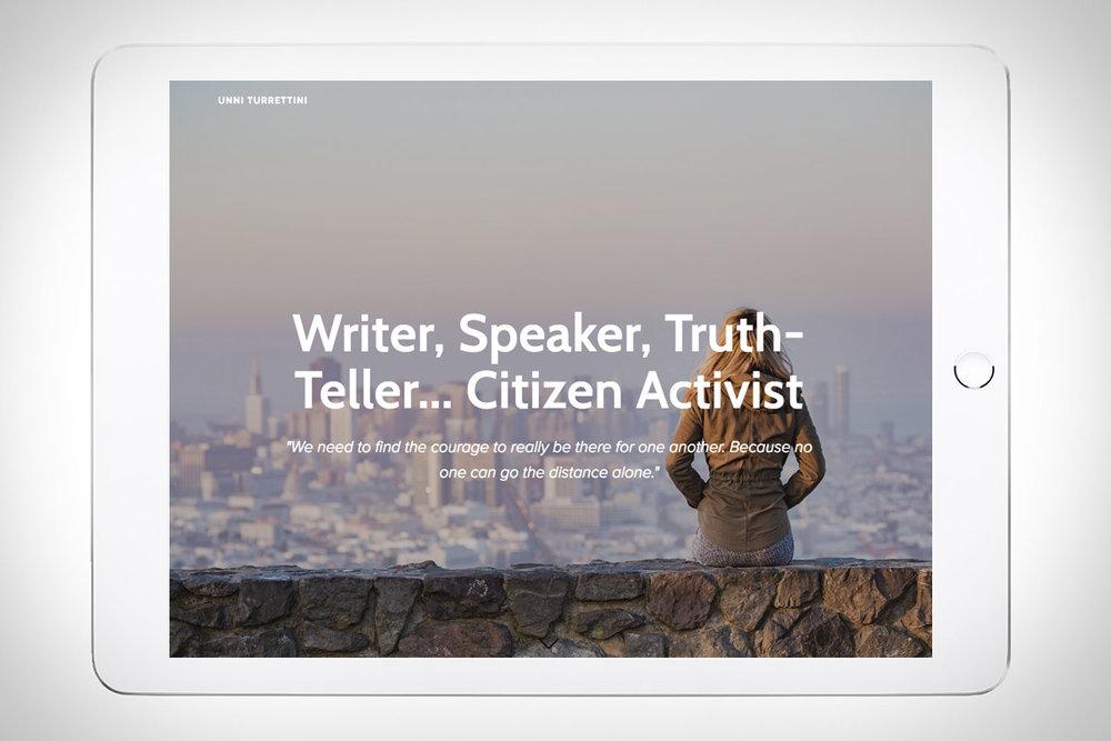 Unni Turrettini - author & speaker