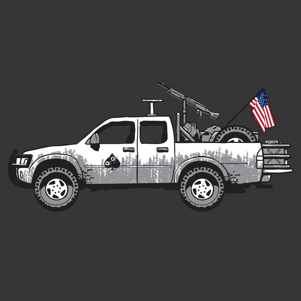 US Special Operations Toyota Hilux