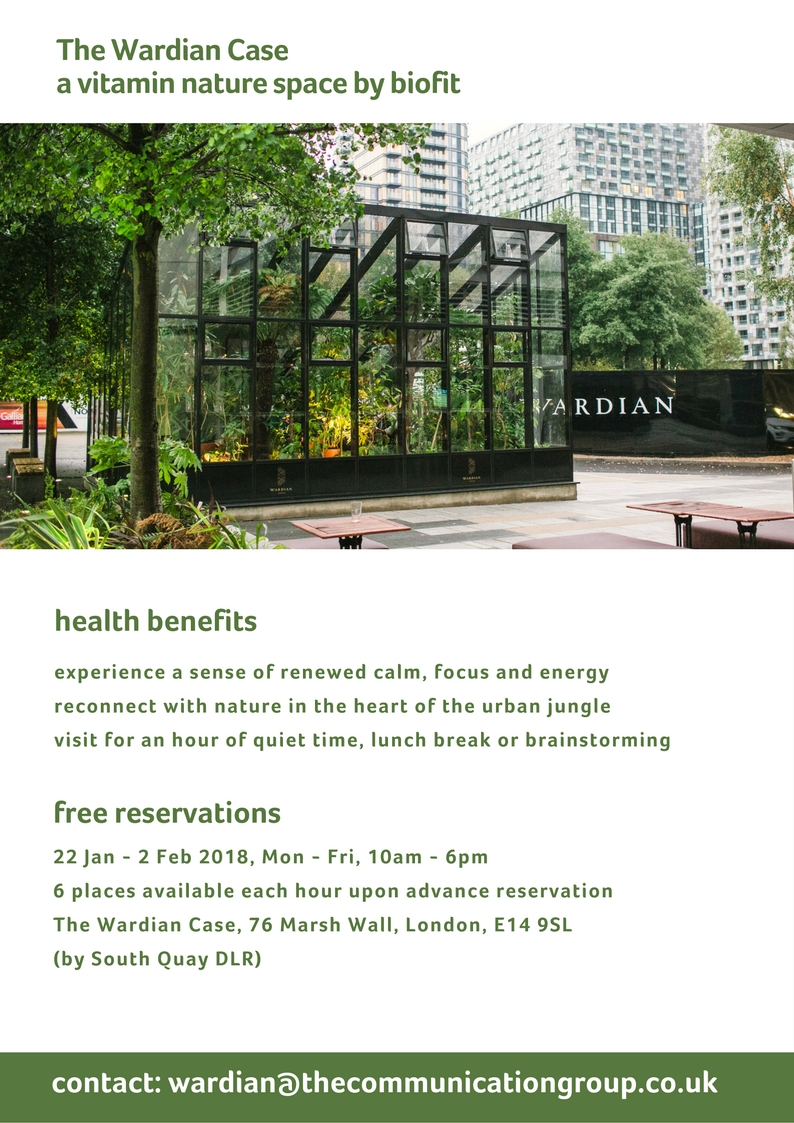 The Wardian Case Vitamin Nature space by biofit.jpg
