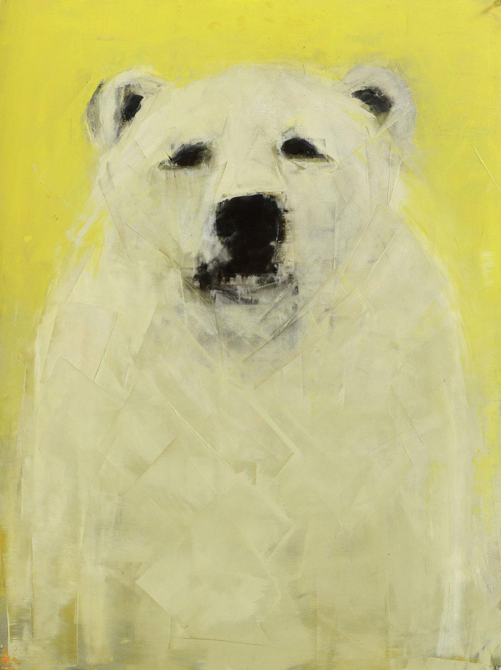 Polar Bear (on Green)
