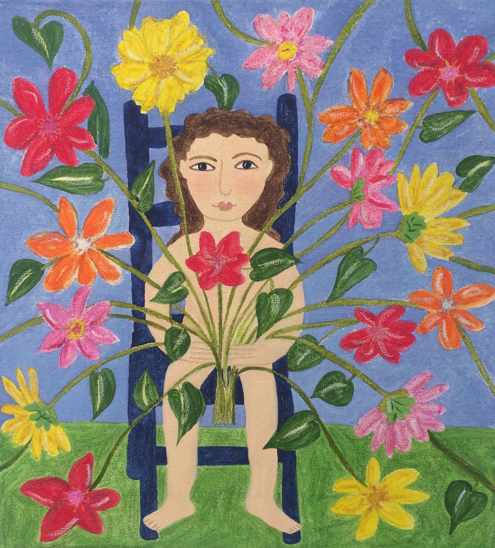 Flower Potted Girl