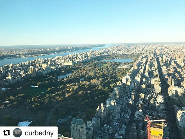 #Repost @curbedny with @repostapp ・・・ Ever wondered what Central Park looks like from 1,100 feet in the air? Now you know. This is the view from 432 Park Avenue, and it's spectacular. #nybrokers #nyrealtors #therealdeal #nyc
