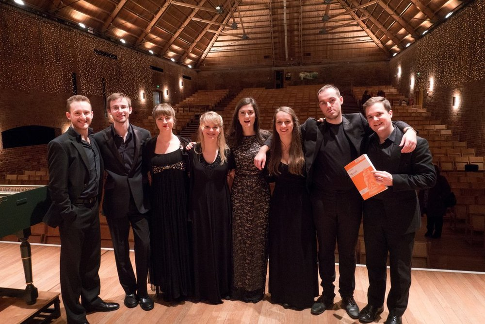 The NYCGB Fellows 2016-17, at Snape Maltings Concert Hall