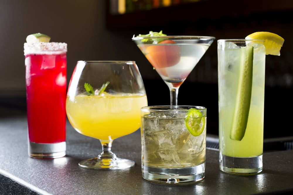 Signature Alcoholic Cocktails