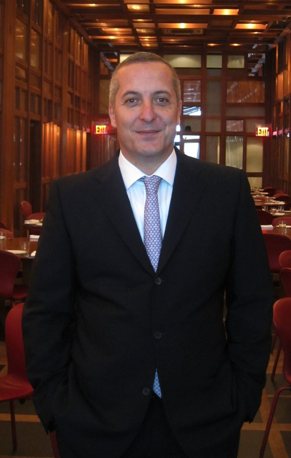 Alex Massoud, CFO of ILILI Restaurant in NYC
