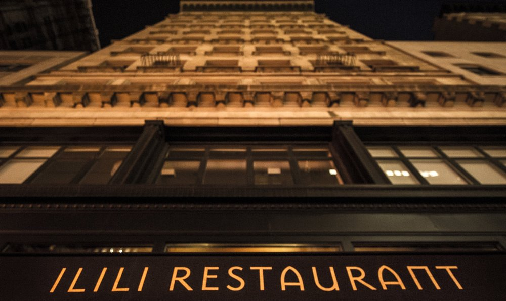 ILILI Restaurant in the heart of the Flatiron District on 5th Ave between 27th and 28th