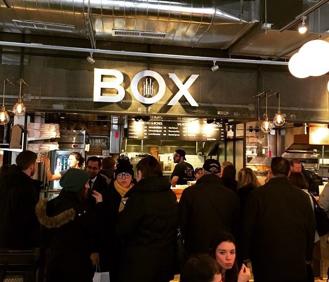 ILILI BOX serves fast, casual Mediterranean wraps, falafels and fries  at City Kitchen in the ROW Hotel NYC, TimeSquare NYC