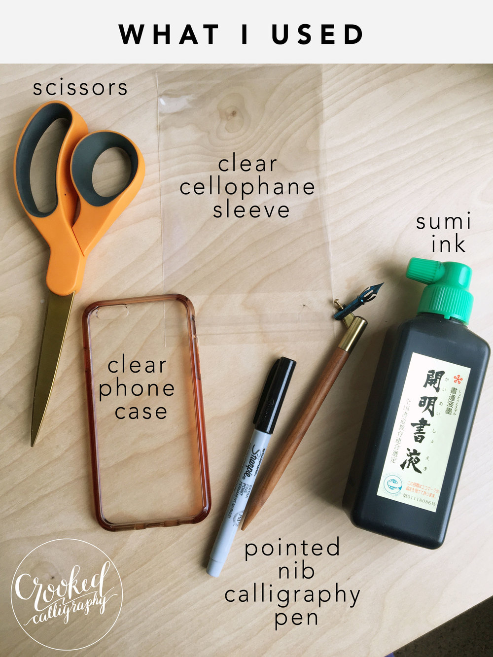 Diy Calligraphy Phone Case Crooked Calligraphy