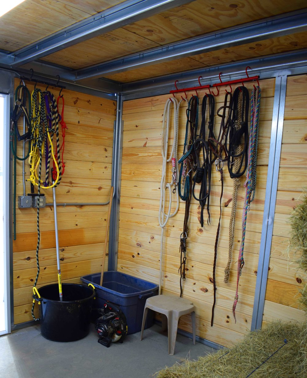 Storage & Tack Room