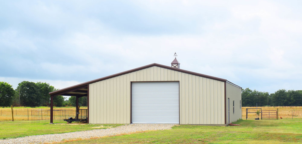 Straight Gable Steel Buildings