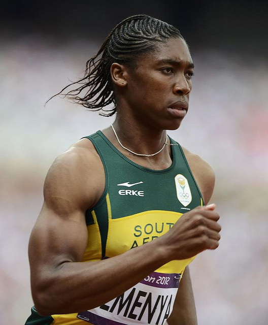 Caster Semenya. Creative Commons