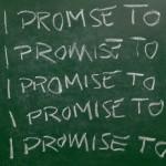 chalkboard I promise
