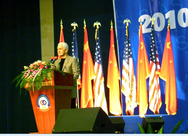 Dwight Frindt keynote address at Annual Women's Symposium in China
