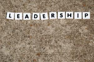 leadership spelled in tiles