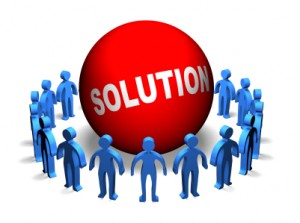 Business Teamwork - Solution