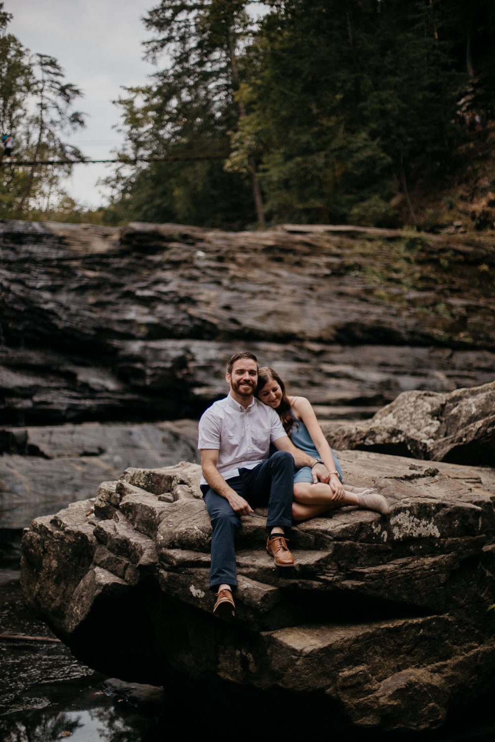 The Hatches | A Moody and Adventurous Engagement Session | Falls Creek Falls | Cookeville, Tennessee | Memphis Tennessee Elopement and Wedding Photographers | memphis-tennessee-elopement-and-wedding-photographer-fall-creek-falls-cookeville-utah-colorado-arizona-moody-adventure-unique-cozy-romantic-pnw-state-park-lovey-beautiful-nature