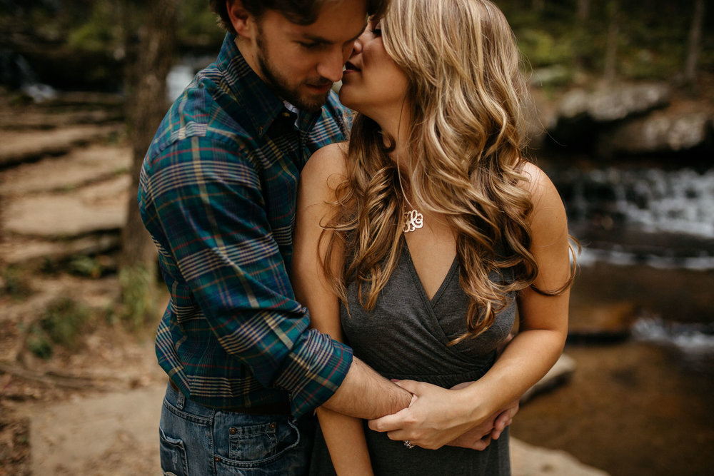 The Hatches | Hayley & Zach | Adventure Engagement Session | Heber Springs, Arkansas | Wedding + Elopement Photographers | heber-springs-arkansas-engagement-wedding-elopement-waterfalls-mountains-adventurous-couple-unique-intimate-lifestyle-nature-woodland-romance-utah-colorado-arizona-washington-memphis-tennessee-wedding-photographers
