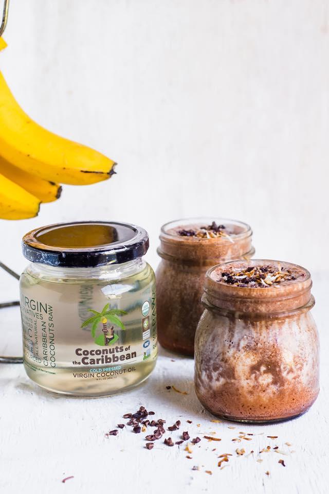 Chocolate Coconut Shakes!
