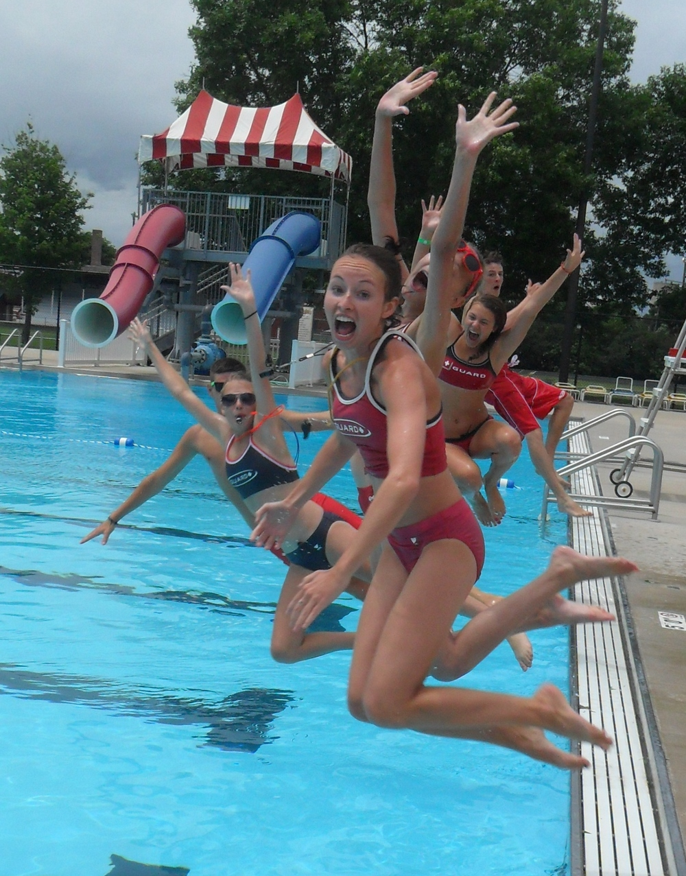 Fun At Clarion Aquatic Center