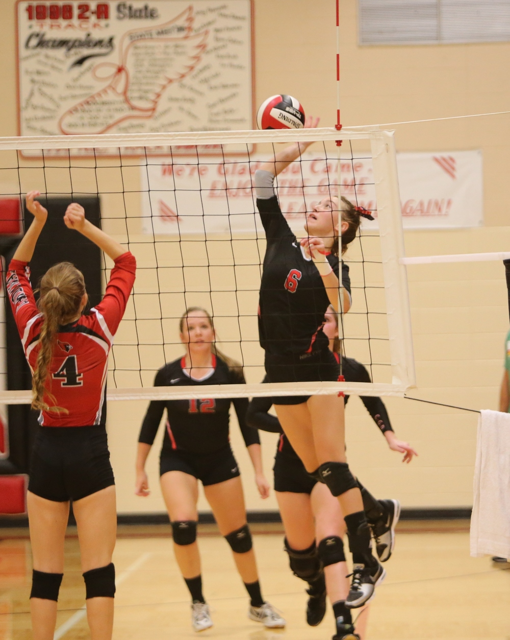 Clarion Cowgirls Volleyball - Photo Credit Wright County Monitor