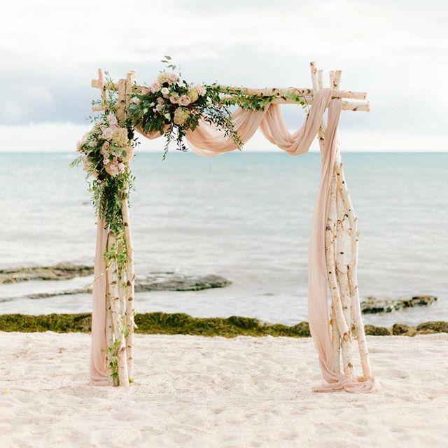 Venue| @casamarinaweddings , @casamarinaresort  Photography| @marielacare  Floral Design| @duartefloraldesign  Event Planner| @destinationweddingstudio —————————————————————————— #wedding  #ceremonyarch  #destinationwedding  #instawedding  #weddingflowers  #duartefloraldesign #casamarinakeywest  #casamarinawedding  #casamarinaweddings