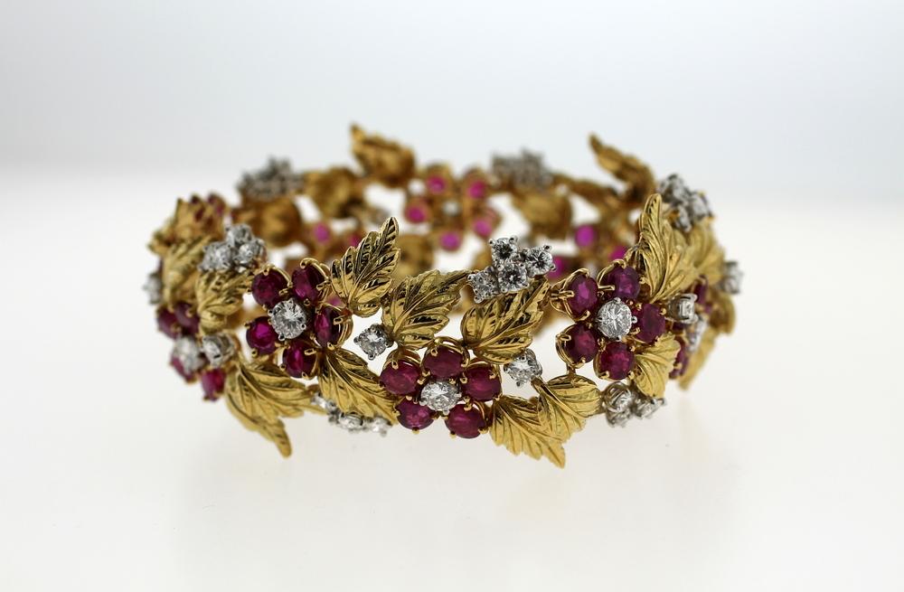 "Charles Vaillant - ""Foliage"" Bracelet"