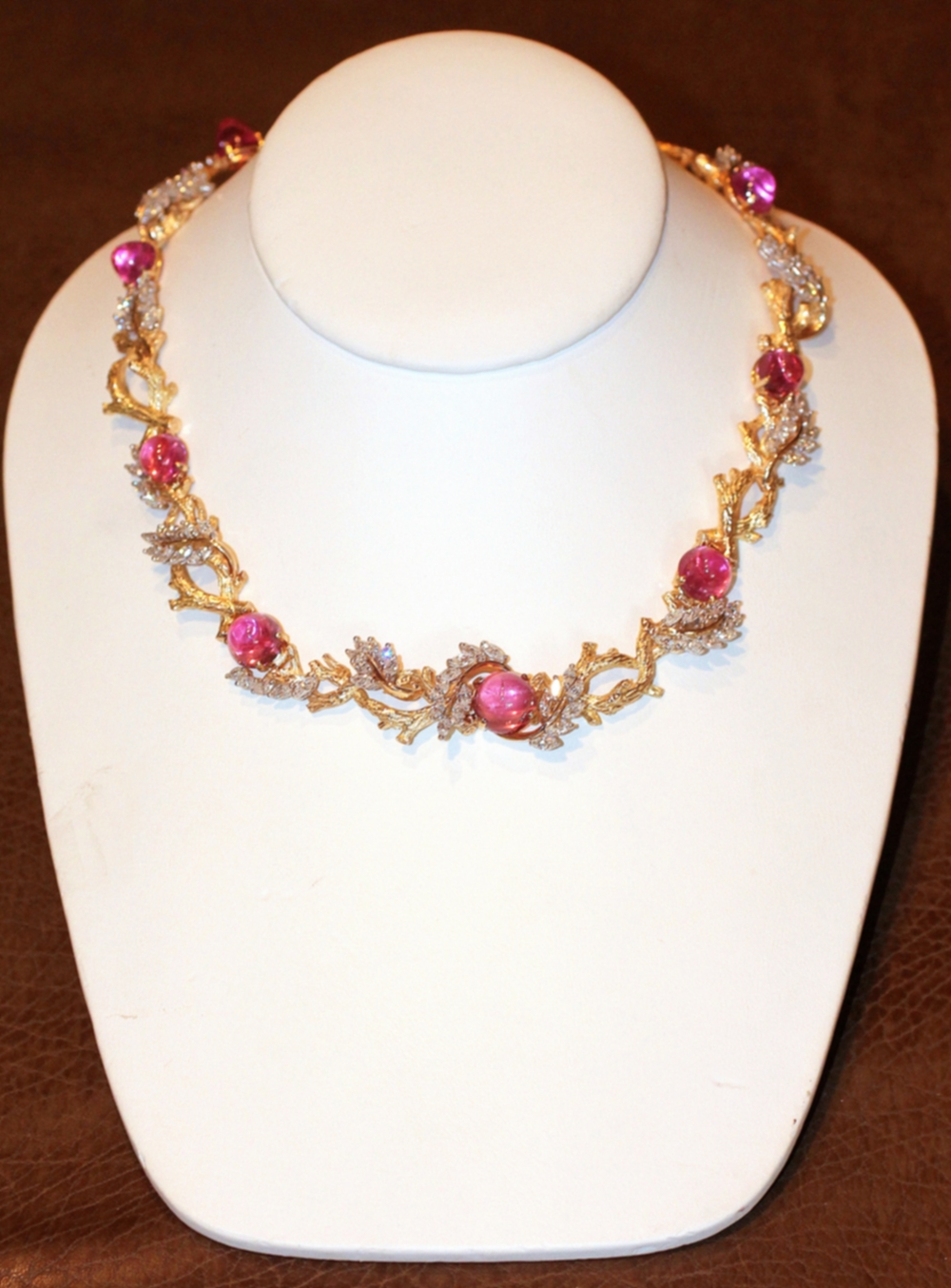 "Charles Vaillant - ""Branches"" Necklace"