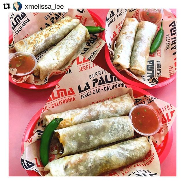 weather is perfect 🌧 ...now how about lunch? . ¡A sus órdenes! @burritoslapalma El Monte, @burritoslapalmaoc Santa Ana, and @thefieldsla 📷gracias @xmelissa_lee #ourguestsarethebest