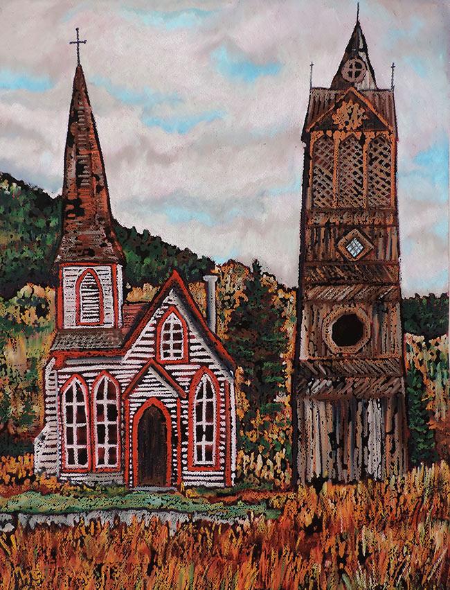 Kitwanga Church and Bell Tower