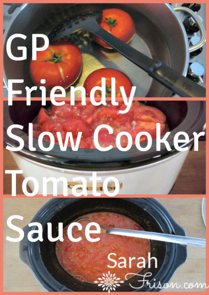 gp-friendly tomato sauce