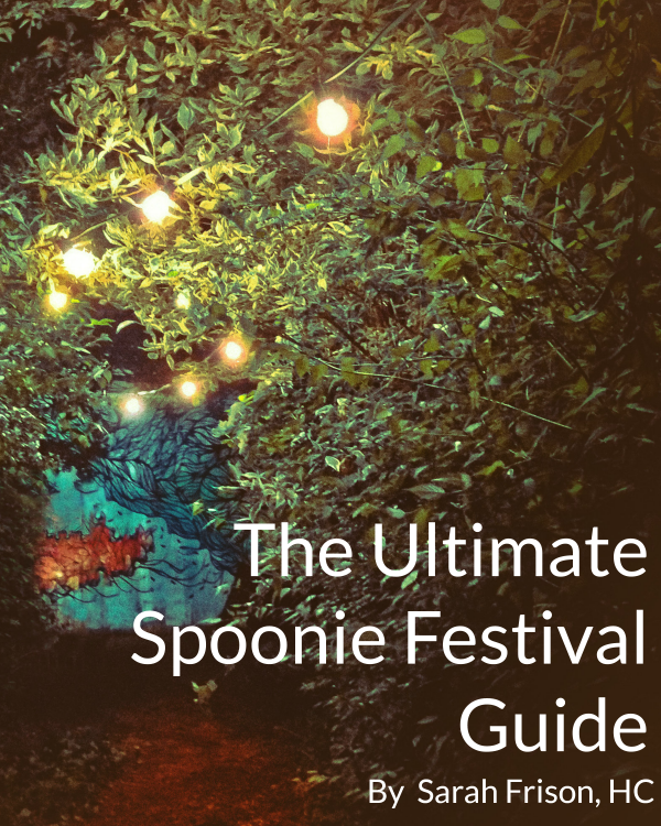 The Ultimate Spoonie Festival Guide + Awesome Free Printable Checklist by @sarahfrisonhc