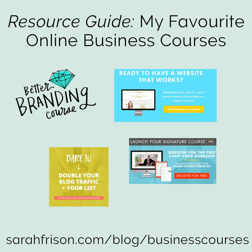 My favourite online business resources