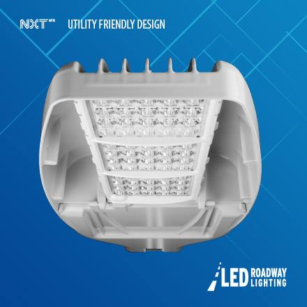 #Introducing the NXT-Lite-M! Medium body #LED #luminaire to replace 400W #HPS. #SmartLighting #streetlights Read On: http://ow.ly/3Paq309gc2o