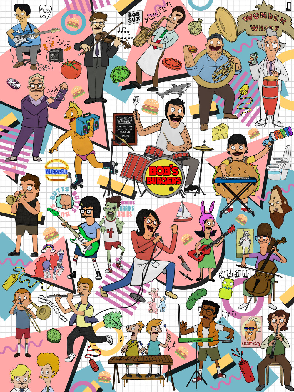 Bob's Burgers - Making Music