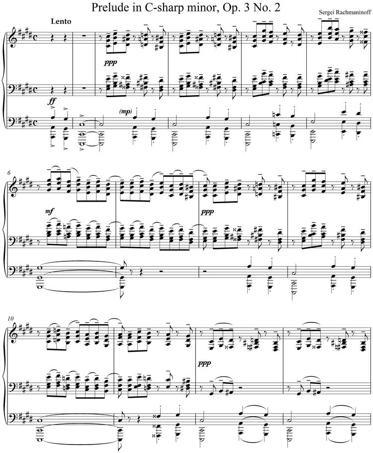 All Music Chords rachmaninoff sheet music : Zen and the Art of Piano — The Carolina Philharmonic